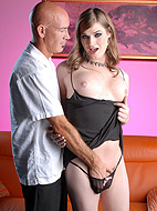 Hot 4th of july sex. Shemale Tiffany Starr have intercourse a guy